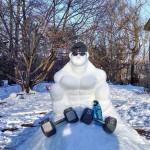 Musclor en neige