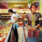 Un indien qui fait ses courses