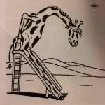 Un tobogan pas compatible girafe
