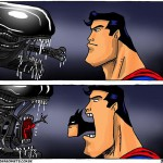 Alien vs Batman