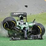 Impressionnant crash de F1
