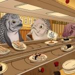 Sushi d'humains