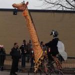 Vélo girafe