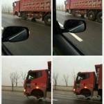 Y'a pas un soucis avec ce camion ?