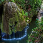 Jolie cascade de mousse