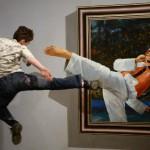 Kung fu tableau