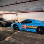 Le garage d'un riche