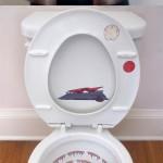 Décorez vos toilettes