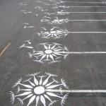 Des places de parking tunées