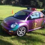 La nouvelle voiture du sheriff