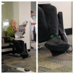 Mamie et ses chaussettes