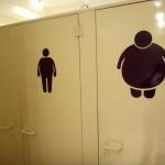 Toilettes à différentes tailles