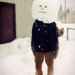 Un drôle de bonhomme de neige
