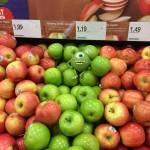 Un intrus dans les pommes
