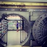 Un supermarché dans un coffre de banque