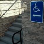 Escalier pour handicapés