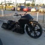 Etrange moto
