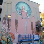 Fresque sur un bâtiment