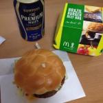 Le burger de foot