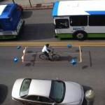 Pour pas se faire coller en vélo