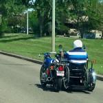 Moto fauteuil roulant