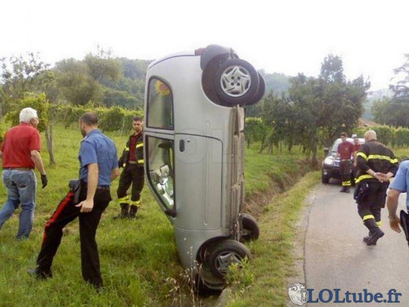 Accident insolite