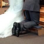 Pendant le mariage