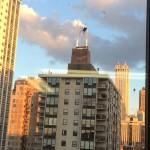Araignée géante sur un immeuble