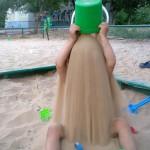 Douche de sable