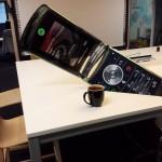 Téléphone géant