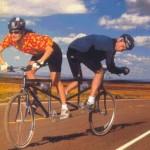 Vélo qui doit pas beaucoup avancer