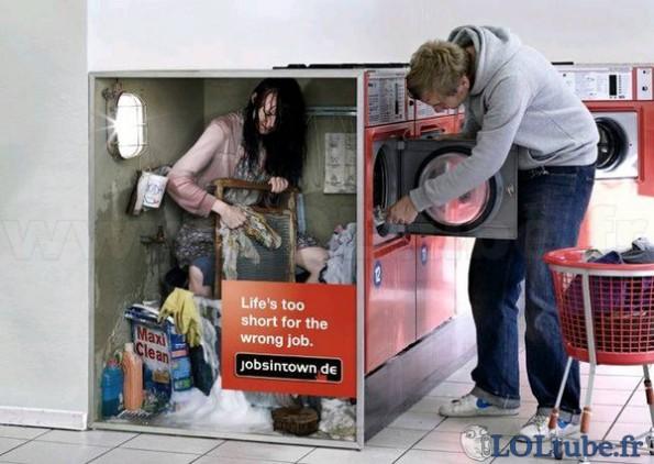 la machine a laver