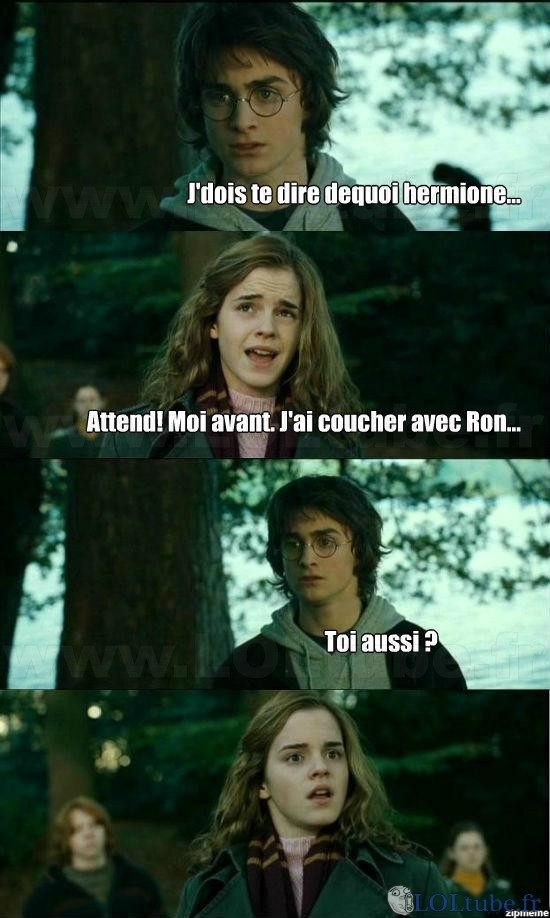 Harry Potter as quoi?!
