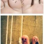 Dessins sur doigts